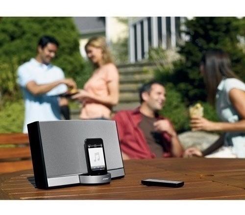 Bose Sounddock Portable Recarregável, C/ Bolsa De Couro Bose