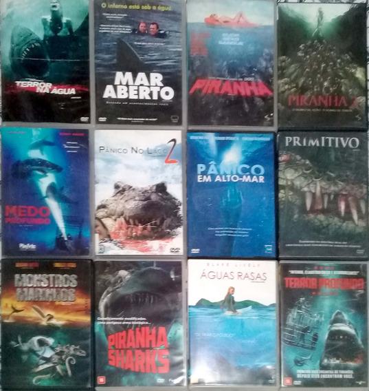 Dvd - Coleção Terror No Mar Nas Aguas - 12 Filmes - Original