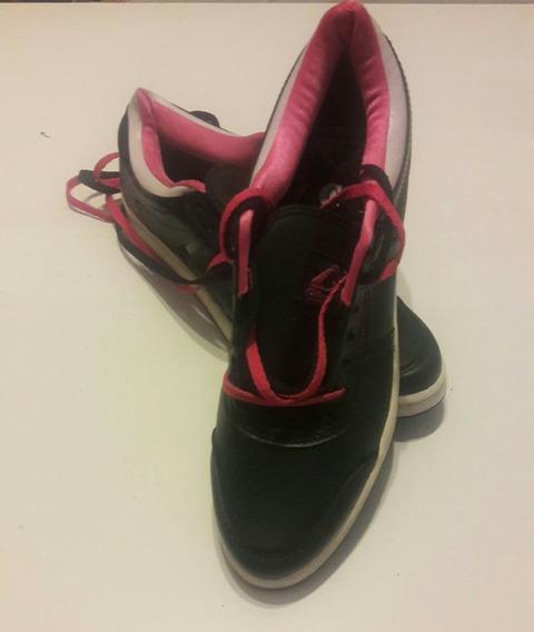 Zapatillas Glock Slim Low Negro Y Rosa 40
