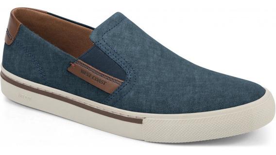 Sapatênis Masculino West Coast Jeans Azul 203401cp-6