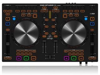 Controlador Dj Behringer Cmd Studio 4a Midi 4 Canales P