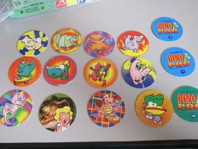 Coleção Completa 32 Tazos Dino Pog