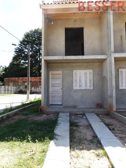 Excelente Sobrado Com 2 Dormitorios Em Sapucaia - V-823
