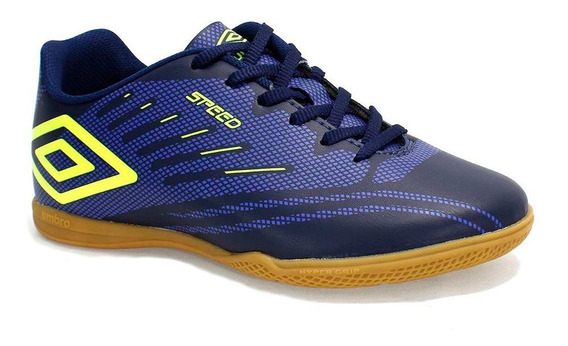 Tênis Indoor Umbro Speed Iv Masculino Azul
