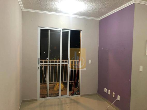 Apartamento Com 2 Dormitórios Para Alugar, 48 M² Por R$ 750,00/mês - Jardim São Miguel - Ferraz De Vasconcelos/sp - Ap0166