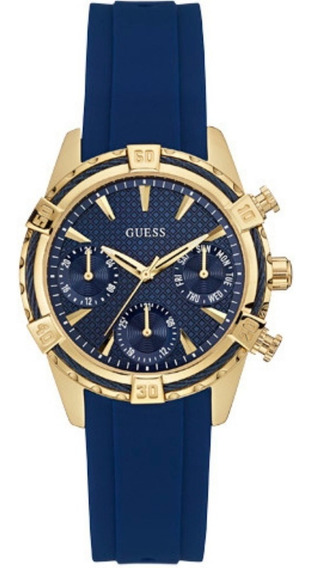Relógio Feminino Guess 92552lpgsru3 Cronógrafo Azul