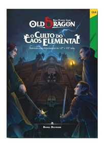 Old Dragon - Culto Do Caos Elemental - Rpg - Redbox