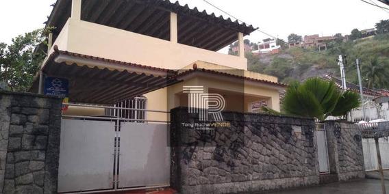 Excelente Casa 2 Quartos, Garagem Colada No Ponto Cem Reis - Fonseca - Ca0049