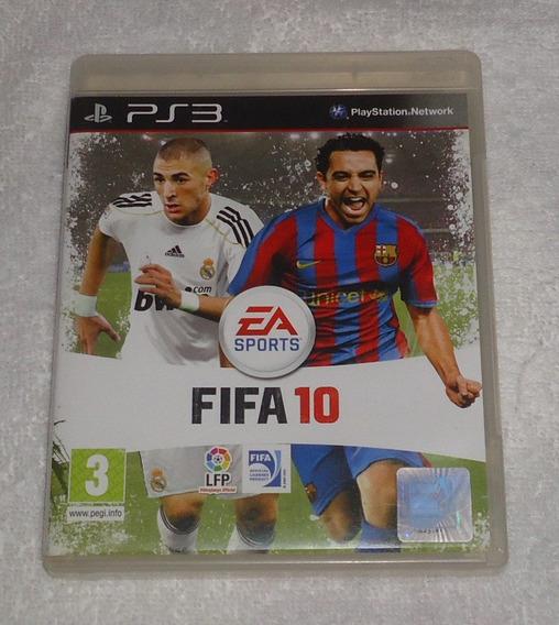 Fifa 10 R2 Ps3 Portugues ** Leia Frete Gratis
