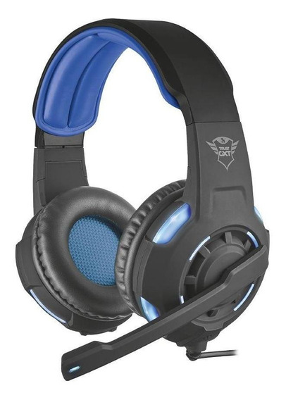 Headset Gamer Trust Gxt Radius 7.1 Surround Com Fio Pc Novo