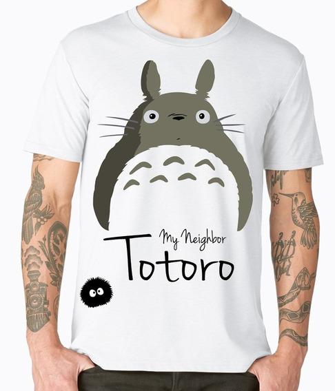 Playera Cleen Alexer Totoro Anime Favulosos Mod 1