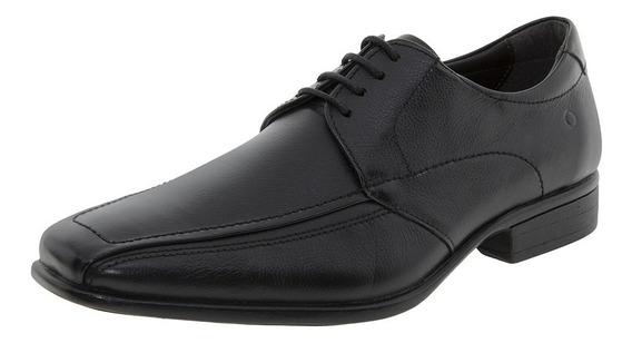 Sapato Masculino Social Preto Democrata - 434021