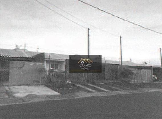 Casa Residencial 2 Dormitórios, Cará-cará, Ponta Grossa. - Ca0193