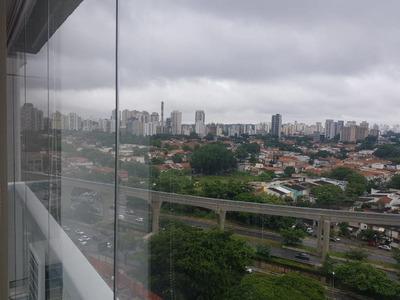 Apartamento Em Brooklin, São Paulo/sp De 45m² 1 Quartos À Venda Por R$ 610.000,00 Ou Para Locação R$ 4.500,00/mes - Ap197439lr