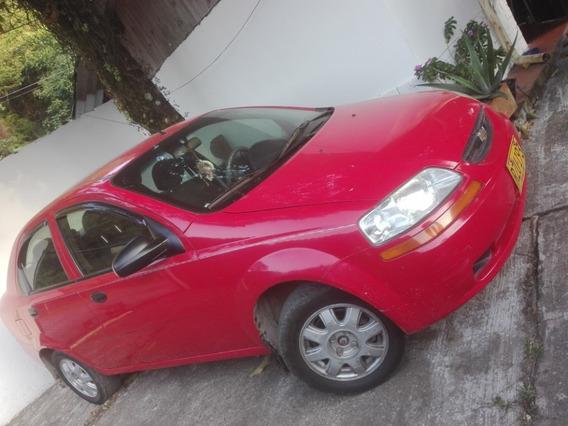 Se Vende O Se Permuta Chevrolet Aveo Family Rojo 4 Puertas