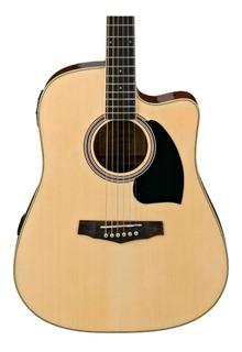 Guitarra Electroacustica Ibanez Pf15ece Natural