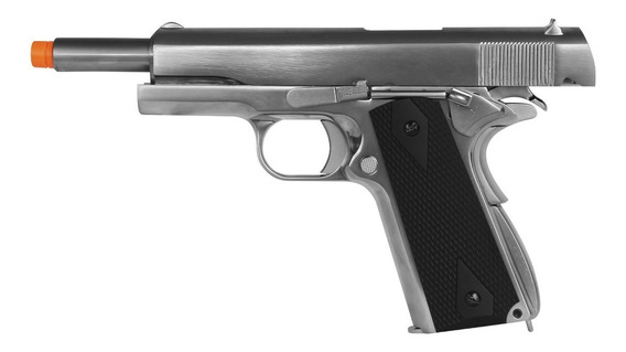 Pistola Airsoft Gbb We 1911 Gen2 Matte Black Cromada Metal