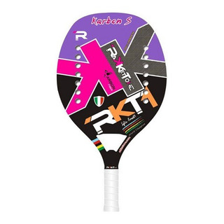 Raquete De Beach Tennis Racketone Carbon S