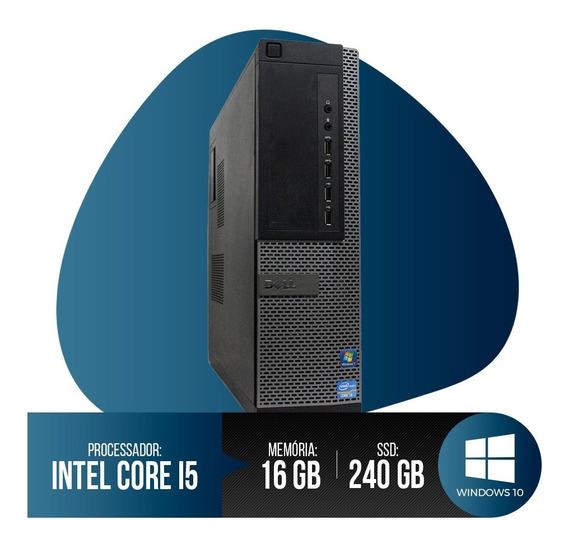Pc Dell Optiplex 7010 Core I5, 16gb Ram Ddr3, Hd Ssd 240gb