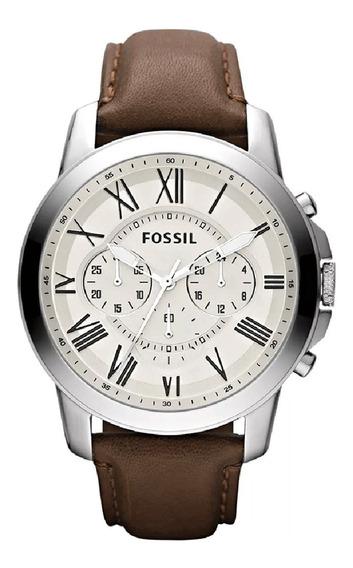 Relógio Fossil Masculino Cronógrafo Fs4735/0bn