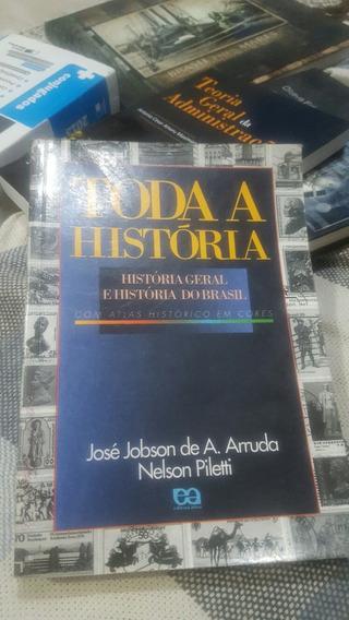 Livro Toda História Com Atlas Histórico Em Cores