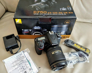 Brand New Nikon D750 Vr Kit 20-124mm Lens
