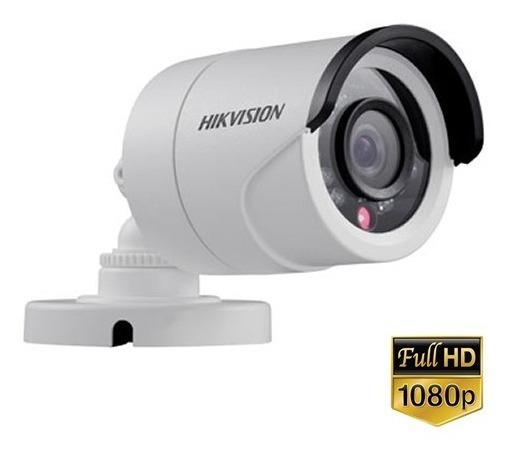 Câmera Hikvision Ds-2ce16d0t-ir Ir 20m 1080p 2,8mm Ip66 Full