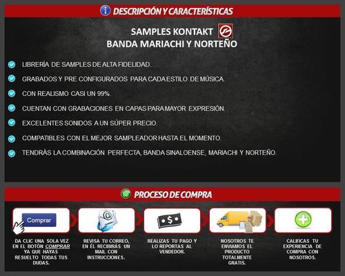 5 de gratis para kontakt mariachi Samplers :