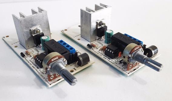 Controlador Velocidade Motor 12v 20a Pwm 10 Unidades