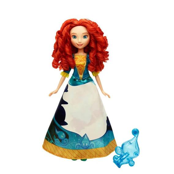 Boneca Princesas Disney Vestido Mágico Merida Hasbro Oferta