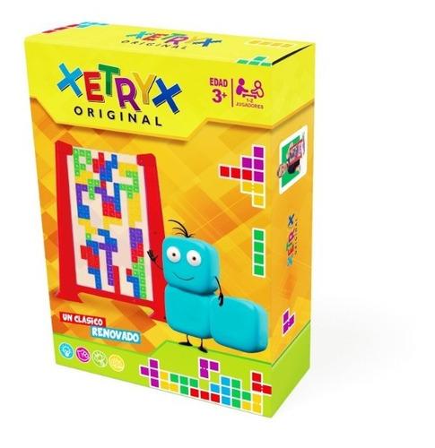 Imagen 1 de 6 de Xetryx Juego De Ingenio Tetris Original Ik0001 Educando