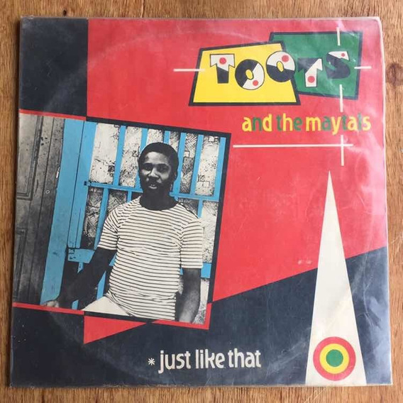 Lp Toots And The Maytals Just Like That 1980