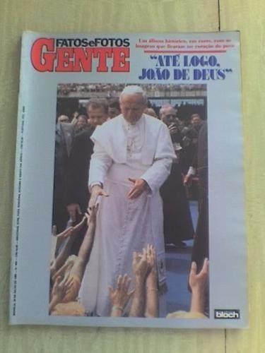 Revista Fatos E Fotos 988/1980 - Até Logo João De Deus