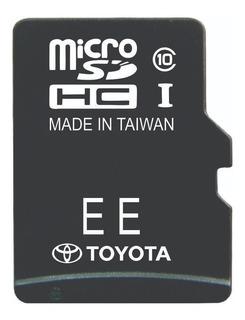 Tarjeta Gps Toyota Micro Sd Cualquier Modelo Full
