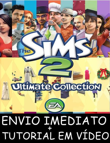 The Sims 2 Todas As Expansões Pc - Mídia Digital + Brinde