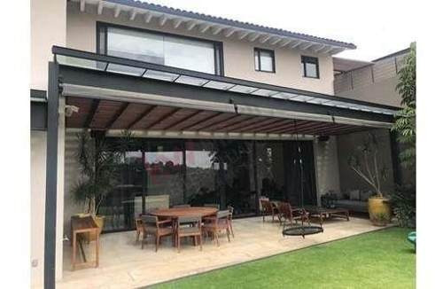 Venta Casa De Lujo En Bosque Real Country Club Privada El Secreto