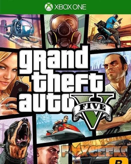 Grand Theft V Auto Xbox One Digital Envio Imediato Offline