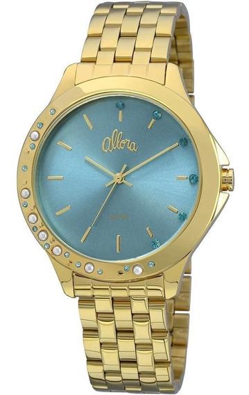 Relógio Feminino Allora Analógico Fashion Al2035fbt/4a - Dou