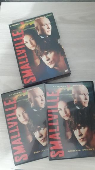 Smallville 3 Temporara Dvd 6 Discos Original