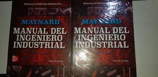 Manual Del Ingeniero Industrial 5ta Edicion. 2 Tomos
