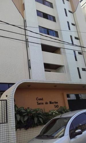 Imagem 1 de 15 de Apartamento Para Venda Em Natal, Barro Vermelho - Torre De Marfim, 3 Dormitórios, 3 Suítes, 5 Banheiros, 2 Vagas - Ap0109_2-210183