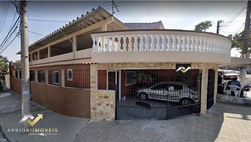 Casa À Venda, 237 M² Por R$ 550.000,00 - Jardim Ana Maria - Santo André/sp - Ca0633