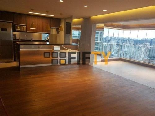 Apartamento À Venda, 90 M² Por R$ 1.400.000,00 - Campo Belo - São Paulo/sp - Ap31138