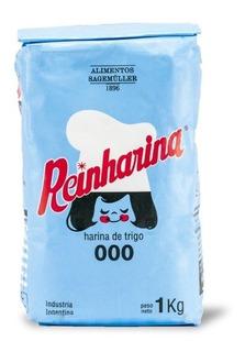 Harina Reinharina 000 Bulto 10 Paquetes X 1 Kg
