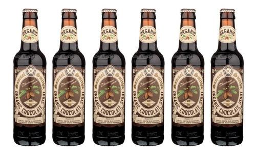 Six Pack De Cervezas Inglesas Samuel Smith Chocolate Stout.