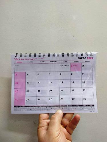 Imagen 1 de 1 de Planificador Almanaque Mensual A5 Calendario Espira Este Año
