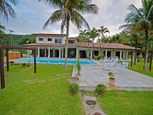 Casa Residencial À Venda, Balneario Praia Do Perequê, Guarujá. - Ca0132 - 34710193