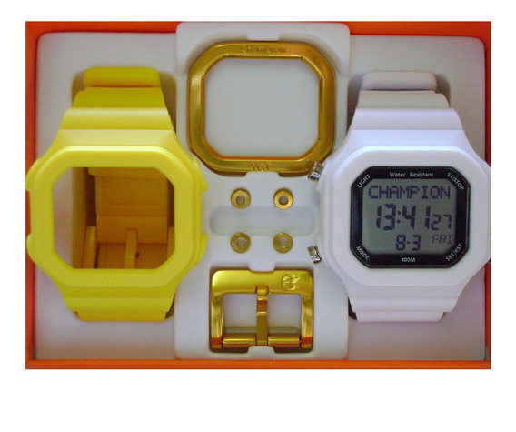 Relógio Cp40180x Champion Yot Original Nota Fiscal