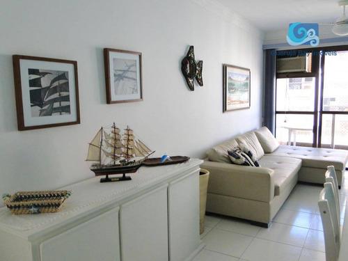 Imagem 1 de 13 de Apartamento A Venda Praia Das Pitangueiras - Guarujá - Ap4541