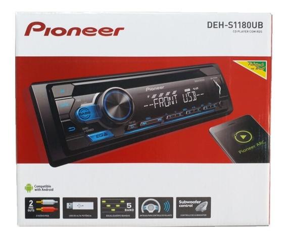 Cd Player Pioneer Deh-s1180ub Mixtrax Usb Saida Subwoofer